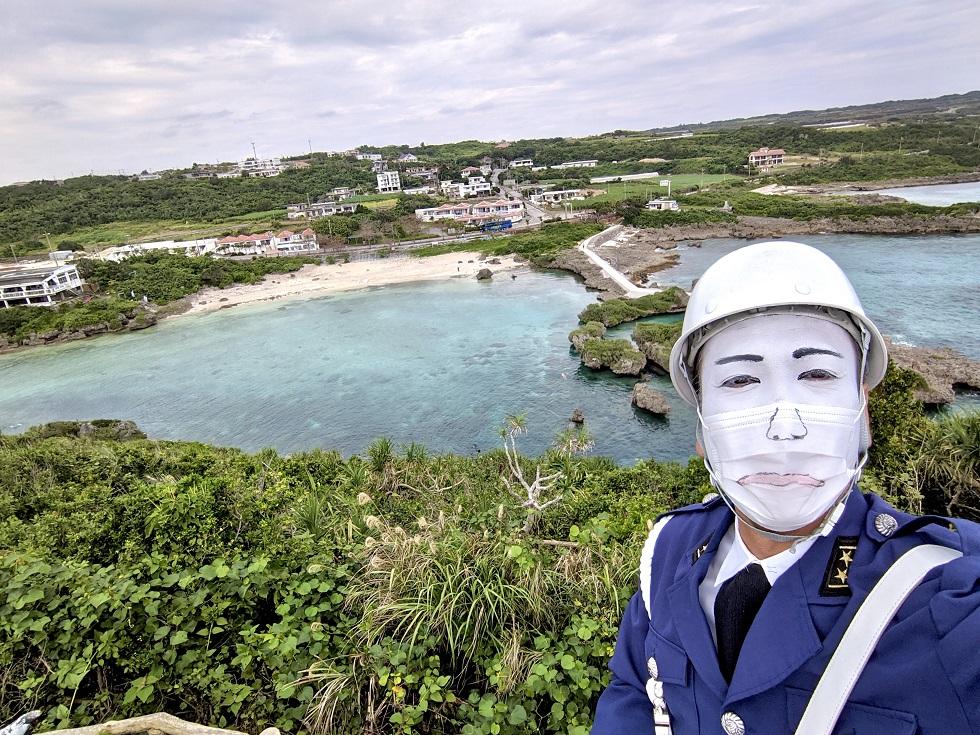 ショック中のまもる君 沖縄ニュースネット