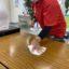 テーブル消毒