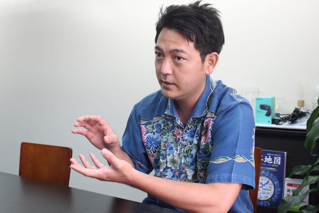 長濱雅徳さん 沖縄ニュースネット